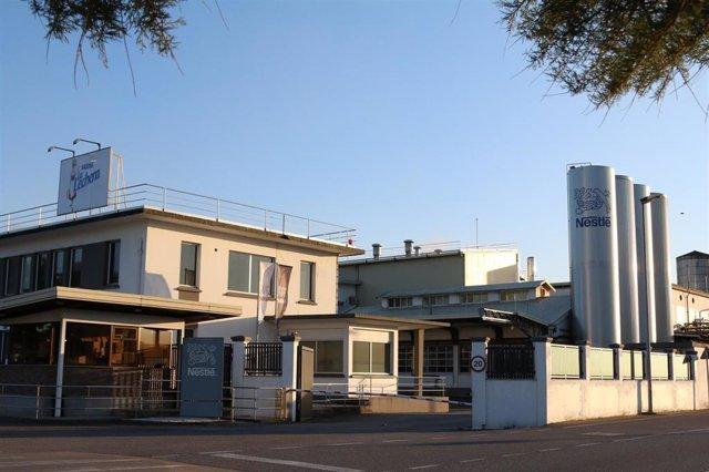 La Fábrica De Nestlé En Pontecesures