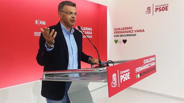 Portavoz del PSOE extremeño, Juan Antonio González