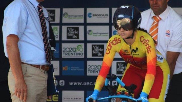 La ciclista española Lourdes Oyarbide disputará el Mundial de Yorkshire