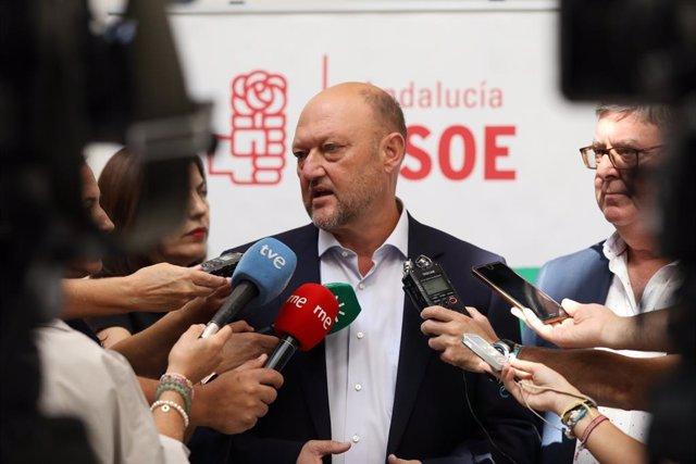 """10N.- PSOE-A, sobre las listas: """"El Comité Federal hará lo mejor para hacer una"""