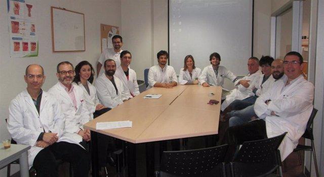 El equipo del Servicio de Urología del Hospital Universitario Son Lltzer.