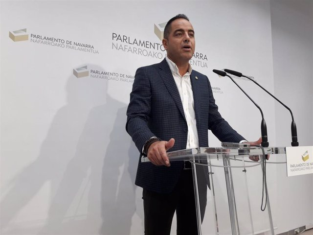 Ramón Alzórriz, portavoz parlamentario del PSN.