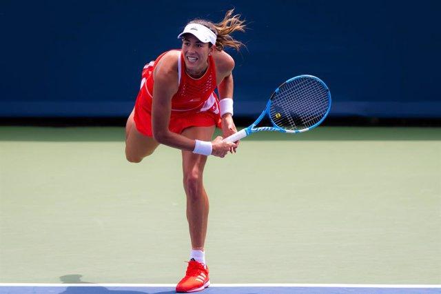Tenis.- Muguruza gana su primer partido en cuatro meses y pasa a segunda ronda e