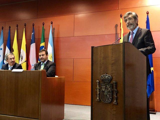 El president del Tribunal Suprem i del Consell General del Poder Judicial (CGPJ), Carlos Lesmes