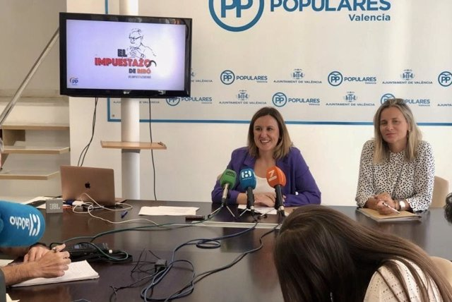 Catalá presenta la campaña del PP contra la subida de impuestos
