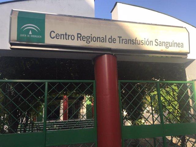 Centro Regional de Transfusión Sanguínea de Andalucía, ubicado junto al Hospital Virgen del Rocío