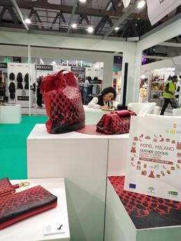 Empresas gaditanas en la Feria Mipel Milano