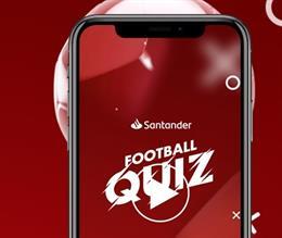 Fútbol.- Nace Santander Football Quiz, la 'app' de Santander y LaLiga que premia