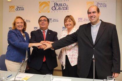 UPO, Cáritas, Obra Social 'la Caixa' y Fundación Persán promueven 36 ayudas para alumnos con dificultades