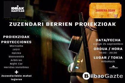 Bilbao realizará este miércoles una sesión con siete cortos de jóvenes autores