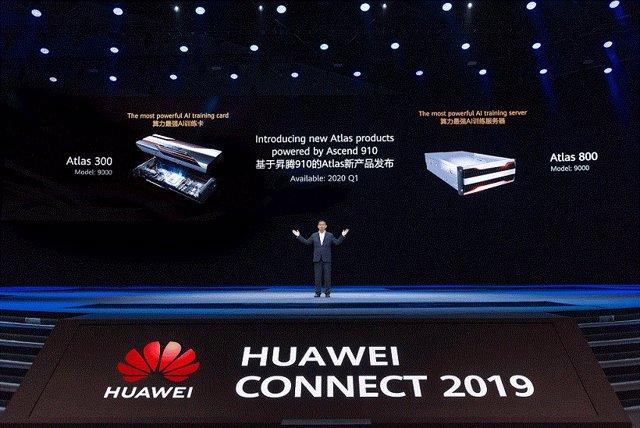 Huawei introduce nuevos productos Atlas y 43 servicios en la nube basados en Asc