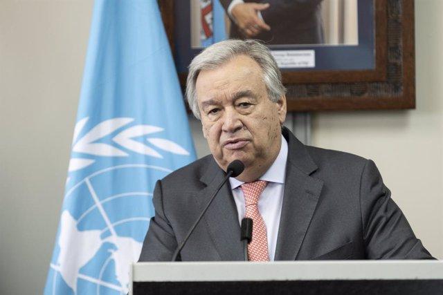 Siria.- Guterres anuncia un acuerdo para la creación del comité constitucional e