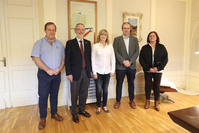 Mikel Arregi,  Iñaki Dorronsoro,  Ana Ollo  Asier Barandiarán y  Arantza Cuesta