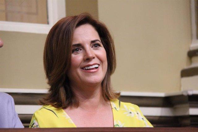 Teresa Cruz, consejera de Sanidad del Gobierno de Canarias