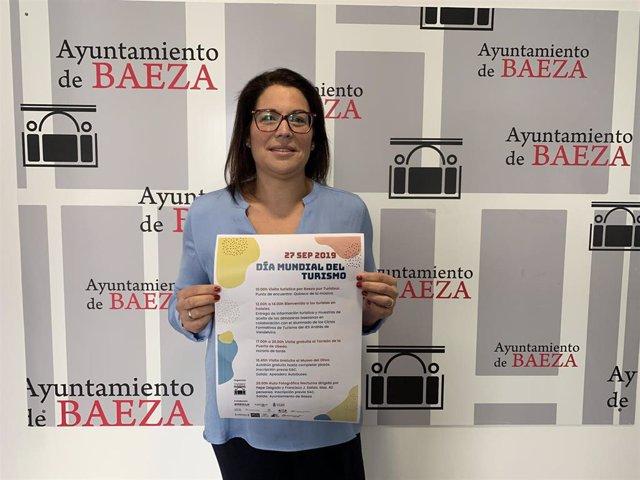 Concejala de Turismo de Baeza, Ana Rodríguez
