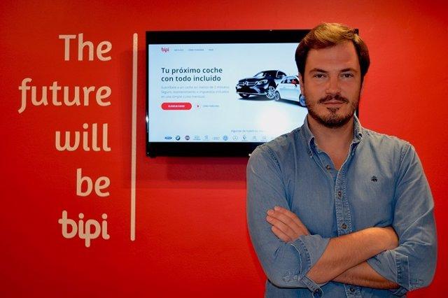Carlos Cuevas, director comercial de Bipi