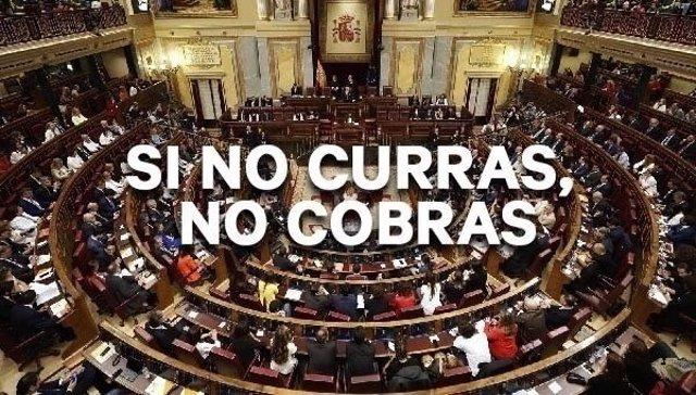 Campaña en Change.Org para que los diputados no cobvren indemnización por la disolución de las Cortes