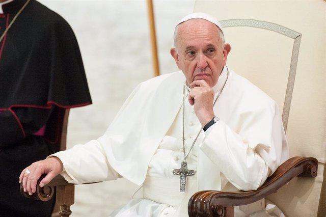 """El Papa cuestiona la voluntad de luchar contra el cambio climático: """"Los comprom"""