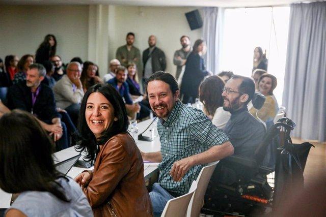 Consejo Ciudadano Estatal de Podemos en el Círculo de Bellas Artes de Madrid.