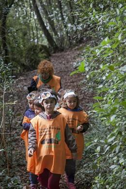 Actividad de Escuela de Medio Ambiente de Camargo