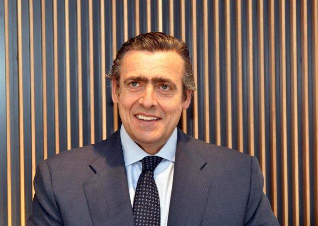 Germán López, presidente de Volvo, Madrid