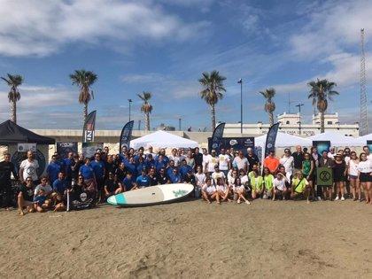 Equilibrio Marino y Centro Comercial Rosaleda celebran 'Unidos por el mar' para reivindicar un mar limpio