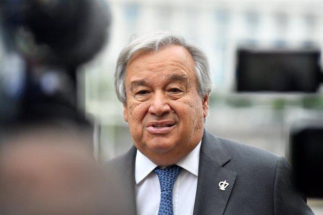 António Guterres a la conferència del G7.