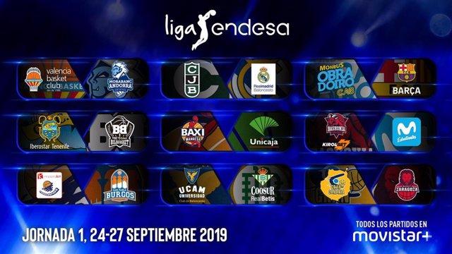 Primera jornada de la Liga Endesa