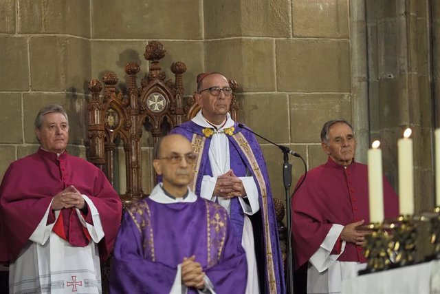 El cardenal arzobispo de Barcelona Juan José Omella