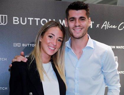 Álvaro Morata y Alice Campello presentan juntos el proyecto que les une profesionalmente