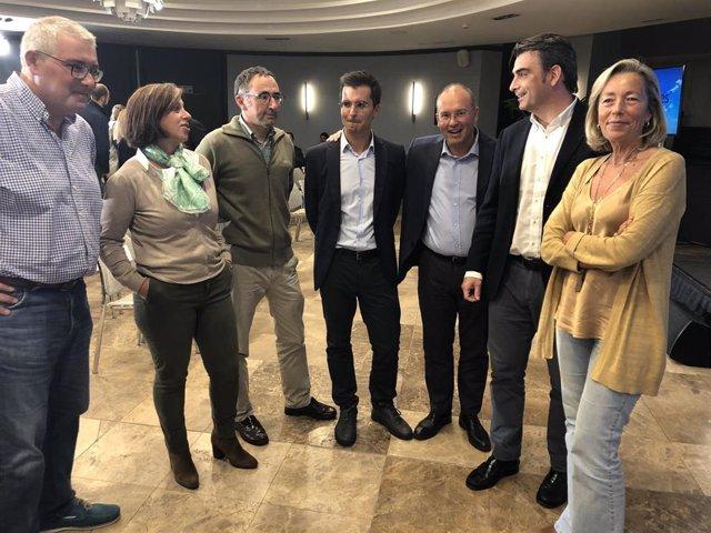 Borja Verea presidirá la gestora del PP de Santiago