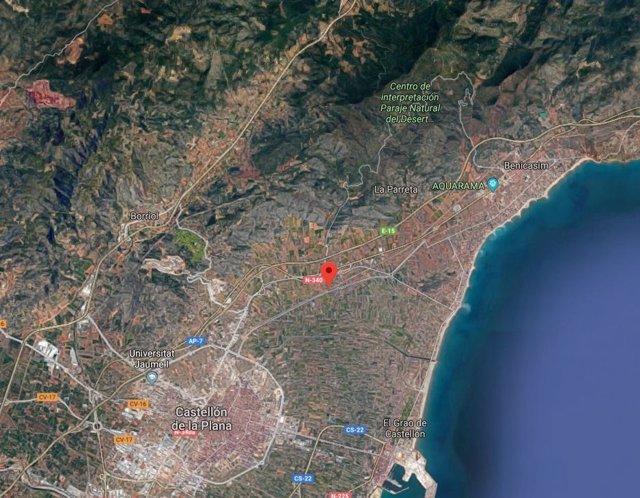 CV-149 entre Castelló y Benicàssim