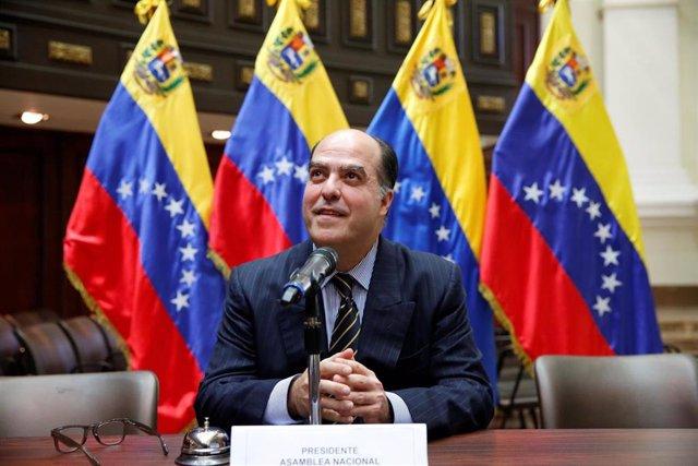 """Julio Borges, responsable de la política exterior del autoproclamado """"presidente encargado"""" de Venezuela, Juan Guaidó"""