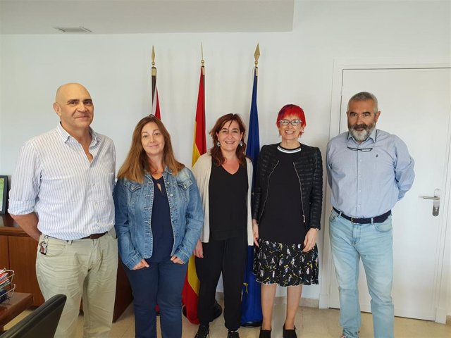 Manuel Carpintero, Ana Monreal, Ana Góngora, Santos Induráin y Kiko Betelu