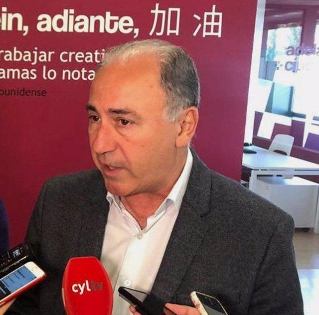 El exconcejal socialista del Ayuntamiento de Valladolid Antonio Gato