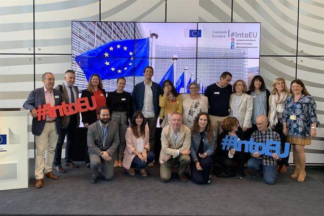 Investigadores del IDIVAL en Bruselas