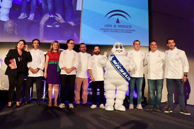 Andalucía Sabor acoge la presentación de los chefs encargados de la gala de la G