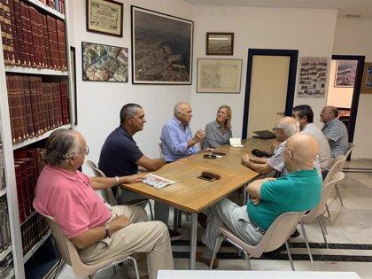 La Junta y emprendedores del patrimonio algecireño estrechan lazos para buscar posibles líneas de colaboración