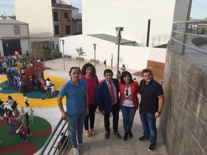 Nuevo parque en el barrio de San Miguel de Torredelcampo a través del Plan Provincial
