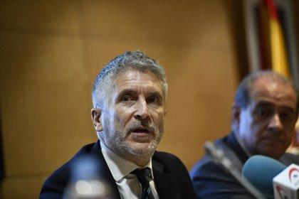 """Marlaska insiste en que la operación contra los CDR depende del juez """"como es habitual en un Estado de Derecho"""""""