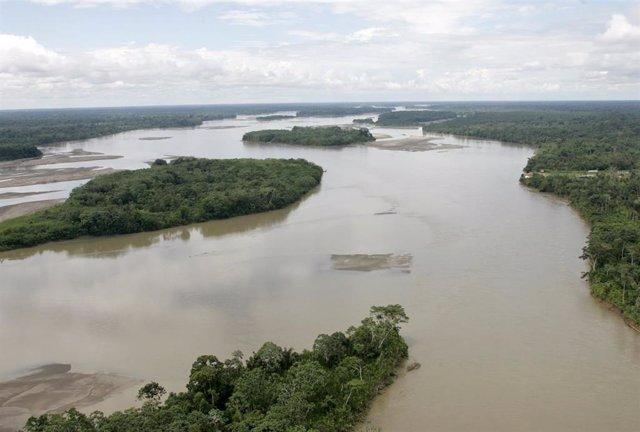 Selva amazónica en Ecuador