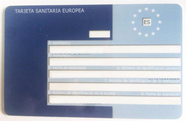 Europako Osasun Txartela.
