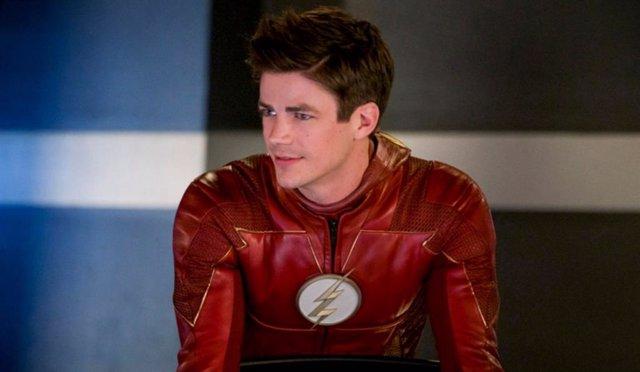 Grant Gustin en su papel de Barry Allen, protagonista de The Flash