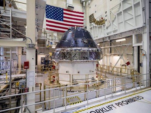 Prototipo de la nave Orión