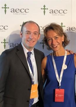 Aleix Prat y Eva Ciruelos, investigadores del ensayo 'SOLTI-TILs-001'