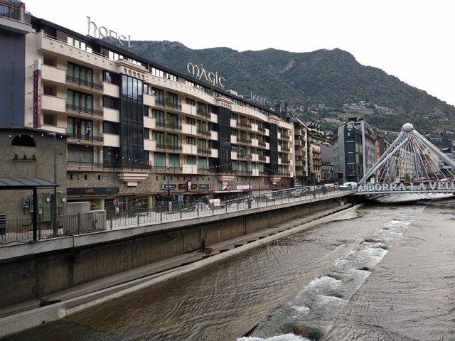 La majoria dels turistes han pernoctat en hotels o apartaments turístics