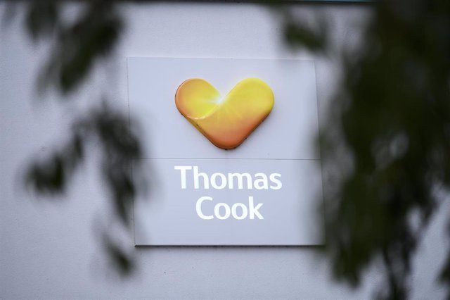 El logo de Thomas Cook.