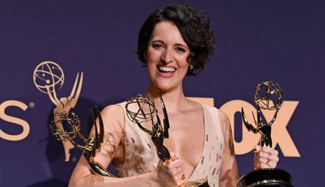 Phoebe Waller-Bridge durante la pasada gala de los Premios Emmy