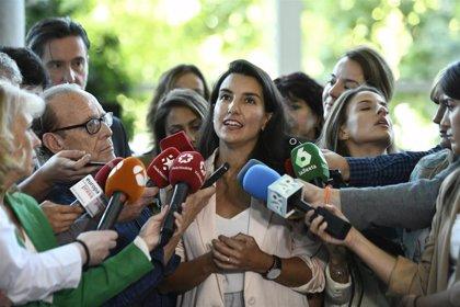 """Monasterio acusa a los grupos de la Asamblea de hacer """"cordón sanitario"""" a Vox al """"vetarle"""" de las comisiones"""