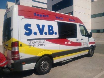 Heridos dos hombres en un accidente entre un coche y un camión en la CV-20 en Vila-real